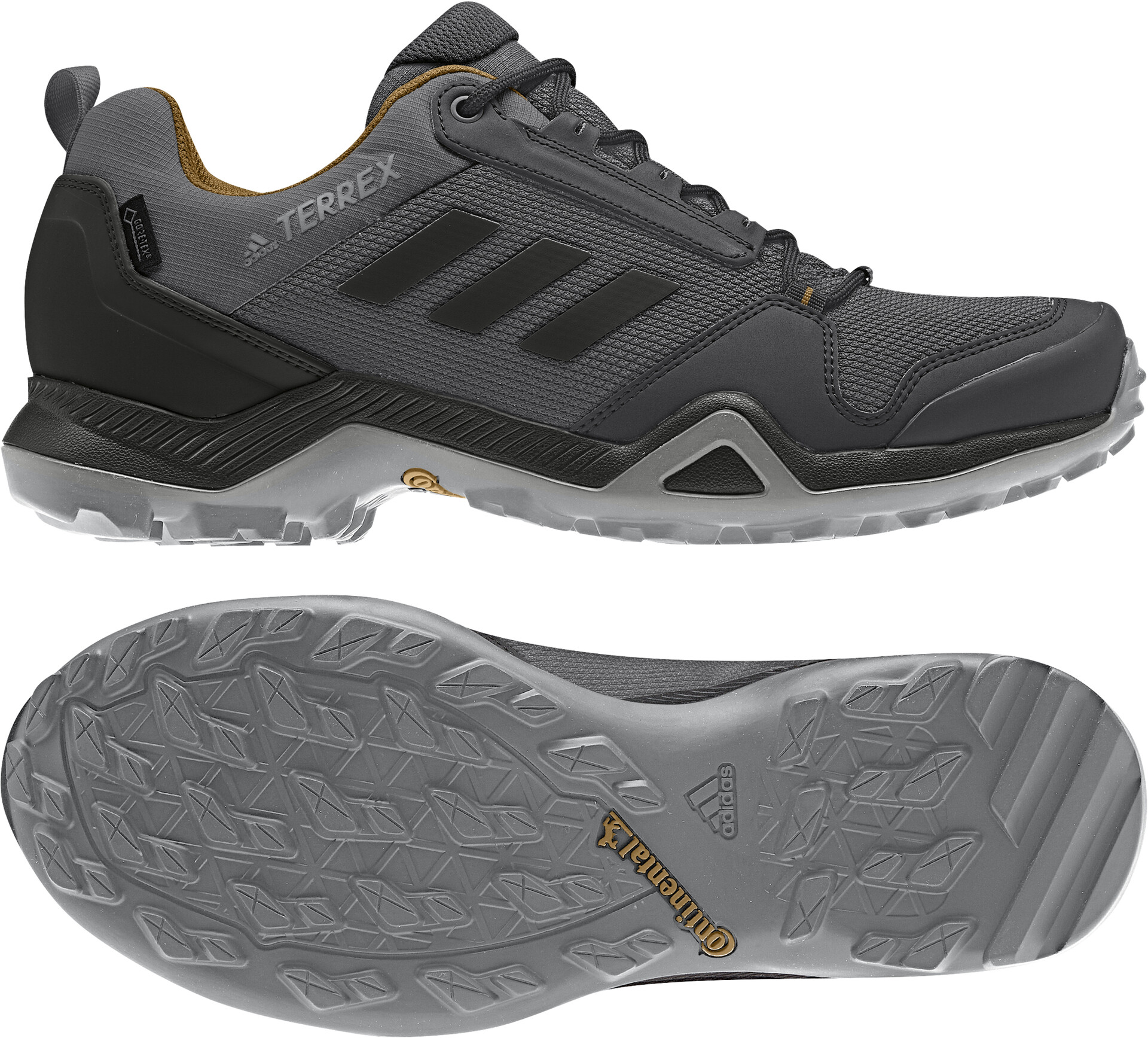 adidas Terrex AX3 Mid GTX Walking boots Grey Five Core Black Mesa | 7 (UK)
